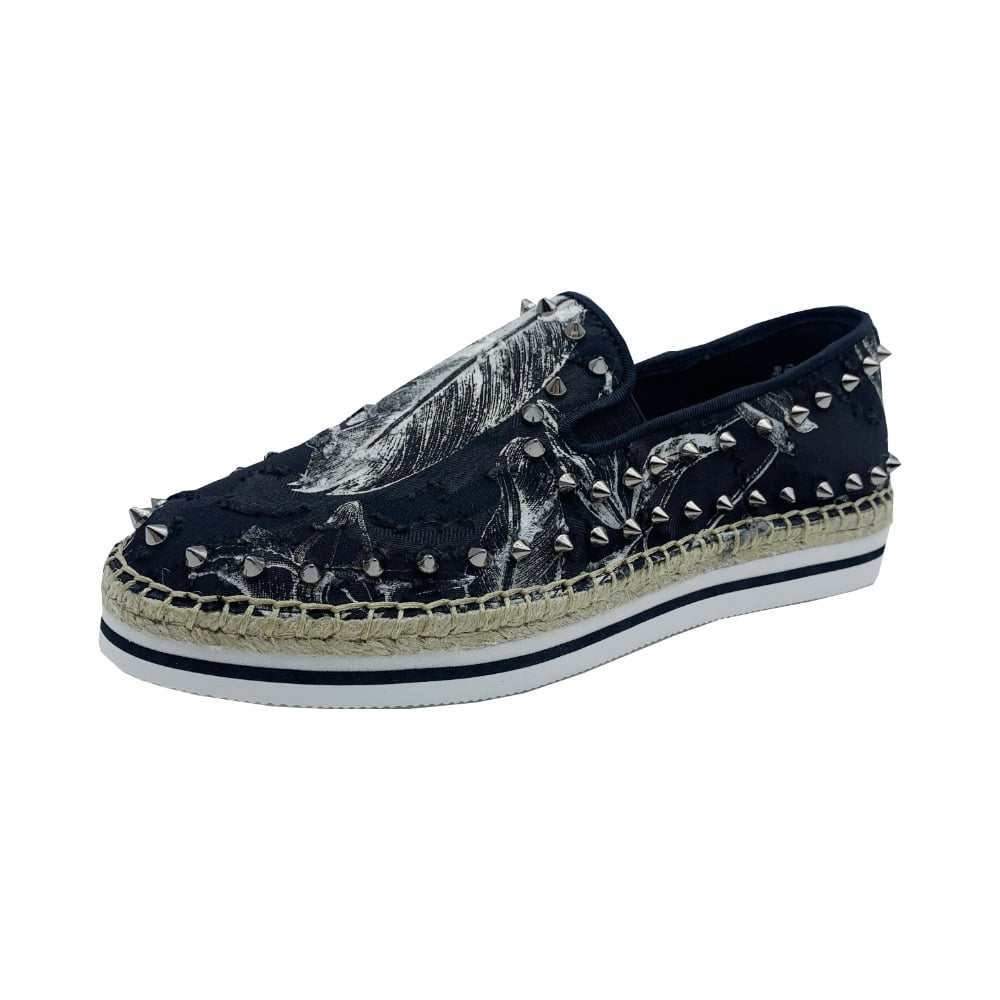 Women's Espadrille Slip-On 51325W BLACK