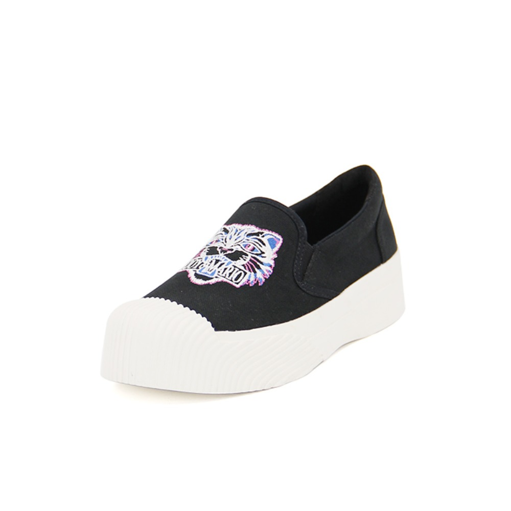 Women's Canvas Slip-On 65072W BLACK