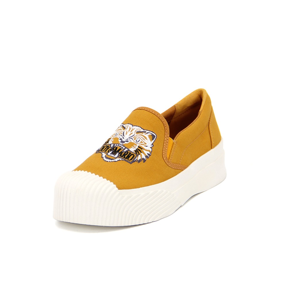 Women's Canvas Slip-On 65072W YELLOW